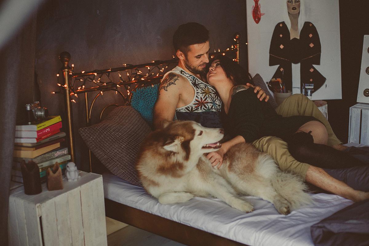 sesja zdjeciowa z psem