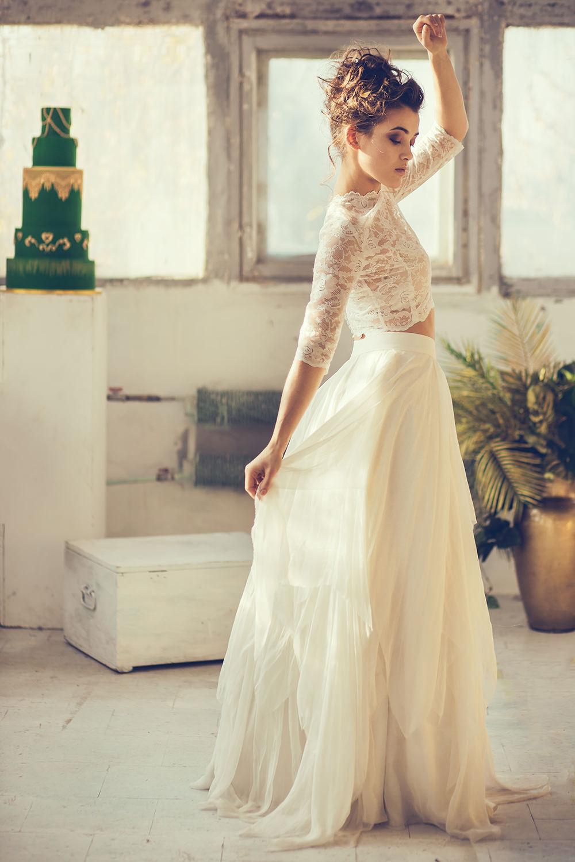 suknie slubne boho